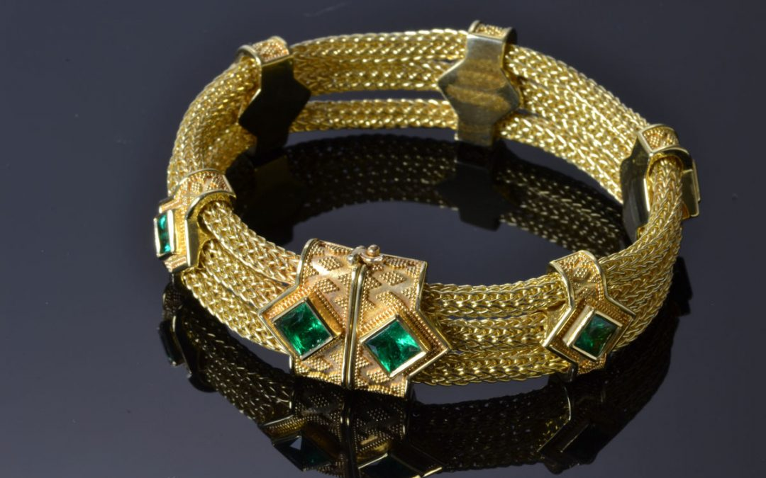 The Making of the Emerald Bracelet