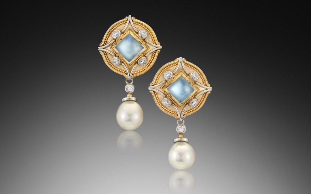 The Making of the Moonstone Earrings